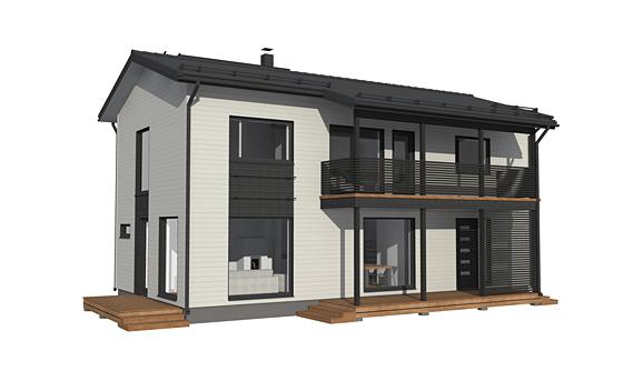 2 Kerroksinen talo